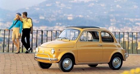 La Fiat 500 Giallo Positano