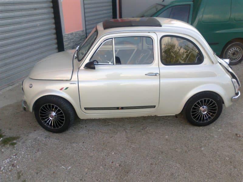 Bianco Perla Fiat 500 Nel Mondo