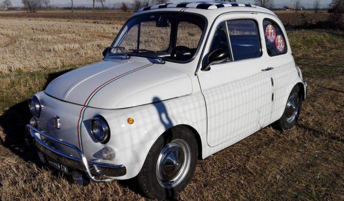 La bellissima Fiat 500 di Giovanni Eslebano è in vendita