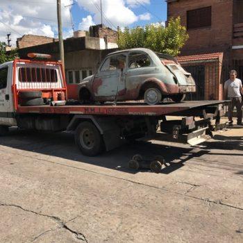 La Fiat 500 di Carlos