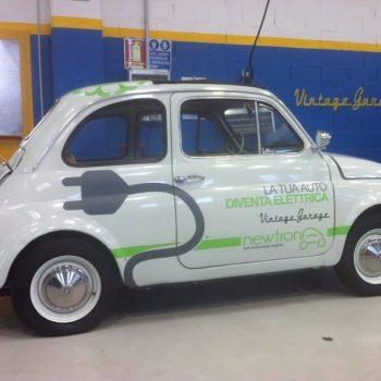 Volete trasformare la vostra cinquecento in una Fiat 500 elettrica?