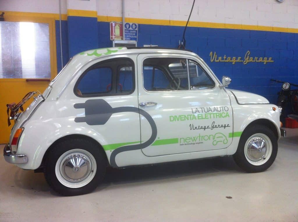 Schema Elettrico Auto : Volete trasformare la vostra cinquecento in una fiat 500 elettrica?