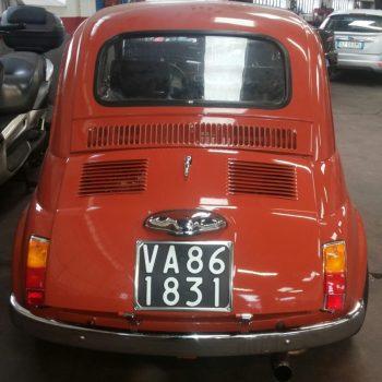 La Fiat 500 di Silvana Lepore