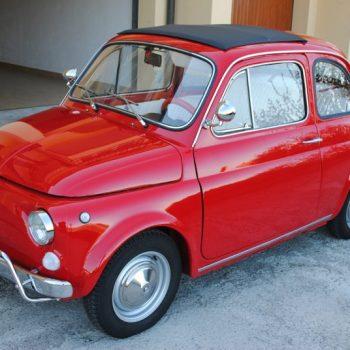 La Fiat 500 di Bruno Calieri