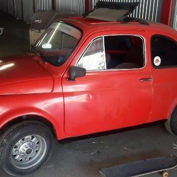La Fiat 500 di Valmek