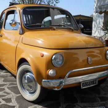 La Fiat 500 di Matteo