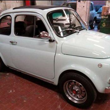 La Fiat 500 di Angelo Colella