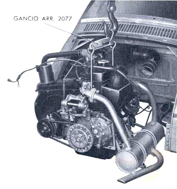 Revisione del motore della Fiat 500: come sganciarlo dalla autovettura
