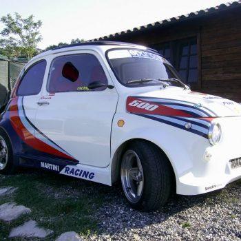 La Fiat 500 di Roberts