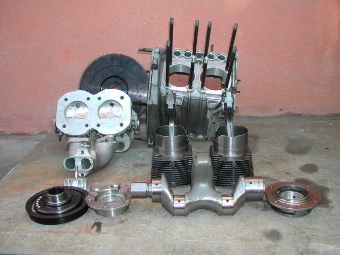 Revisione del motore della Fiat 500: Smontaggio del motore – Prima parte