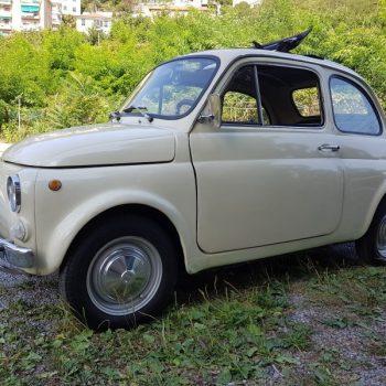 La Fiat 500 di Maury