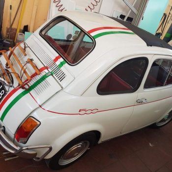 La Fiat 500 di Luigi Massa 66