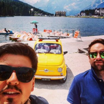 Le vacanze di lorenzo e della sua Fiat 500