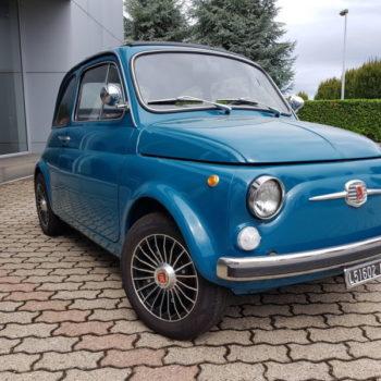 La Fiat 500 di Ravezzani Gionata