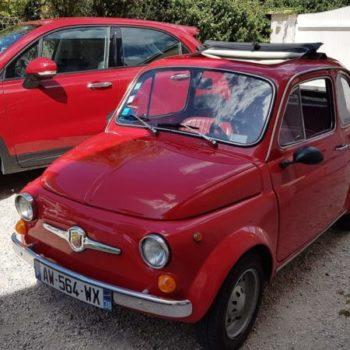 La Fiat 500 di Evoyageur38