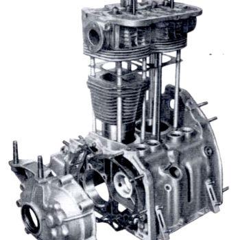 Revisione del basamento motore e delle canne dei cilindri della Fiat 500 d'epoca