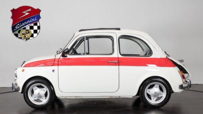 Possedete una Fiat 500 Giannini? Allora questo evento è SOLO per voi!