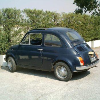 La Fiat 500 di Niki