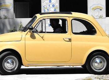 La Fiat 500 di Odette