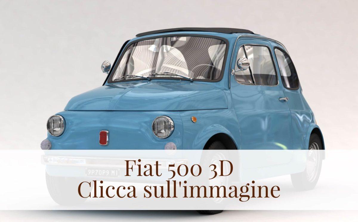 I Paraurti Della Fiat 500 Anteriore E Posteriore