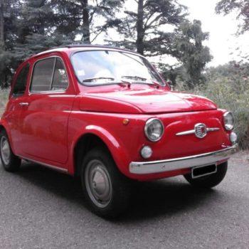 La Fiat 500 di Santino