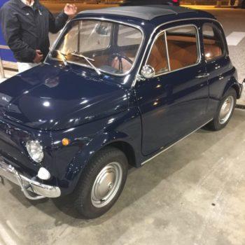 La Fiat 500 di Enzo Capitano