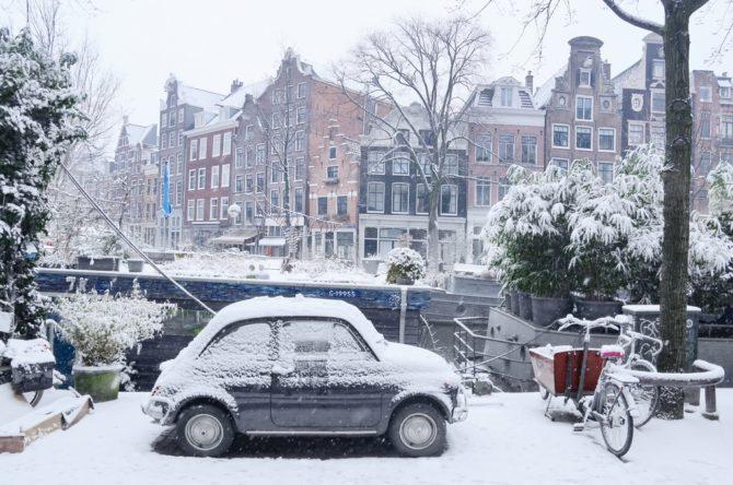 Rimessaggio della Fiat 500: proteggiamola dall'inverno.