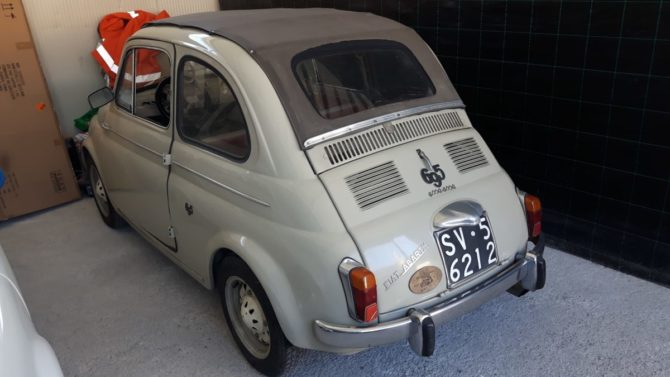 La Fiat 500 D trasformabile di Marco è in vendita!