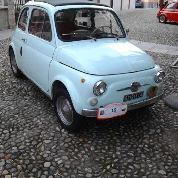 """ Nuvoletta"" – La Fiat 500 di Fabio Bertarelli"