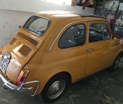 La Fiat 500 L di Pino Valeri 2