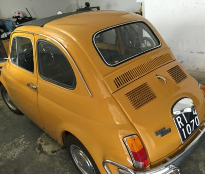 La Fiat 500 L di Pino Valeri 3