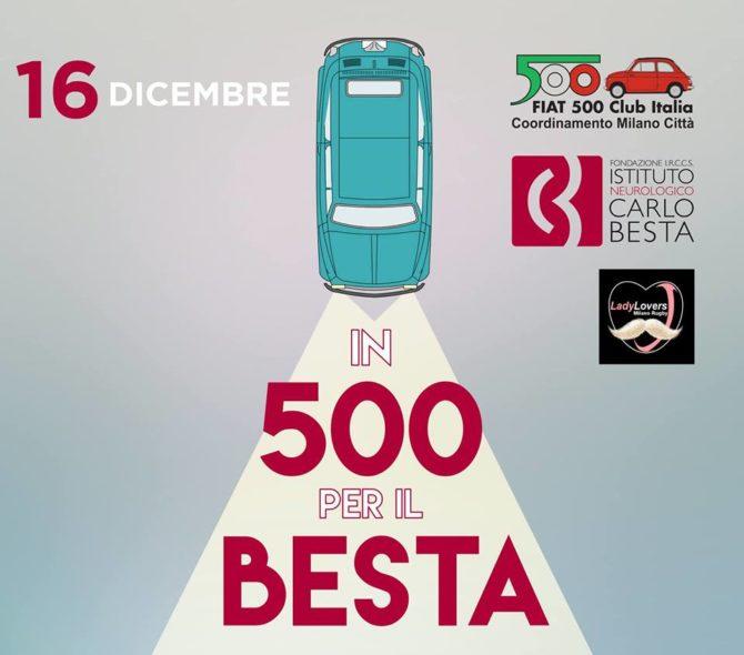 Ancora una volta le Fiat 500 possono aiutare i bambini