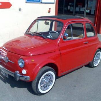 La Fiat 500 di Paolo Carletti