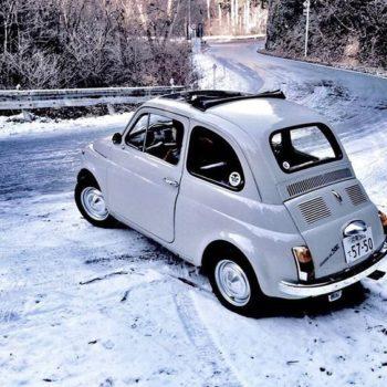Neve, neve, neve … ma le nostre Fiat 500 non si fermano!
