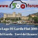 25 Aprile sulle sponde del Lago di Garda con le nostre Fiat 500 header