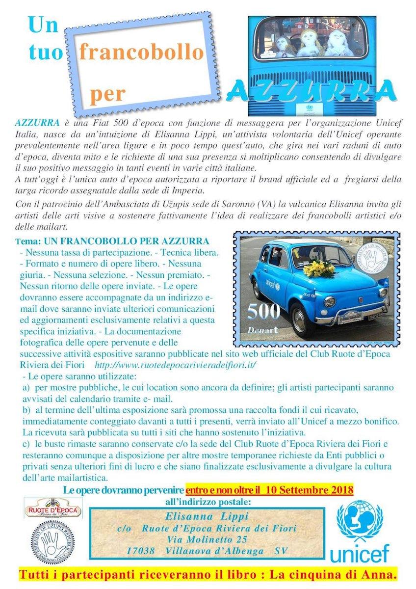 azzurra-francobollo