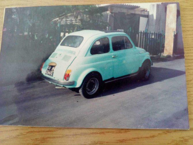 Aiutiamo Gabriele a ritrovare la Fiat 500 di sua sorella?