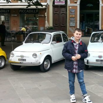La Fiat 500 di Simo'76