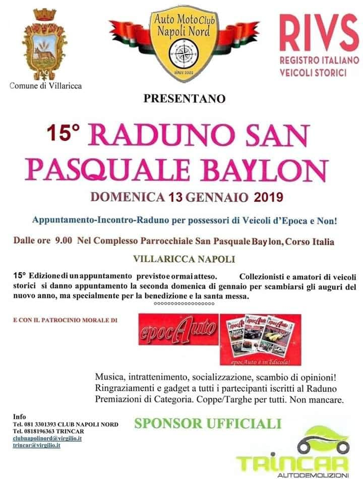 15° RADUNO SAN PASQUALE BABYLON – VILLARICCA (NA)