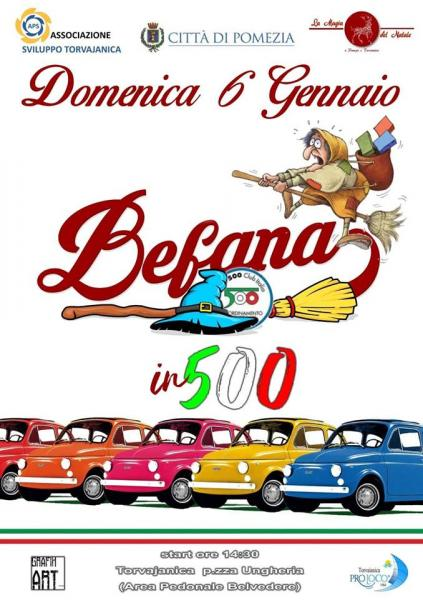 Befana in 500 a Torvaianica (RM)