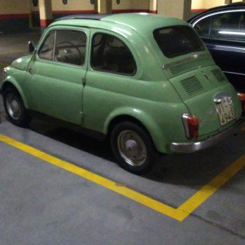 La Fiat 500 di Bombin85