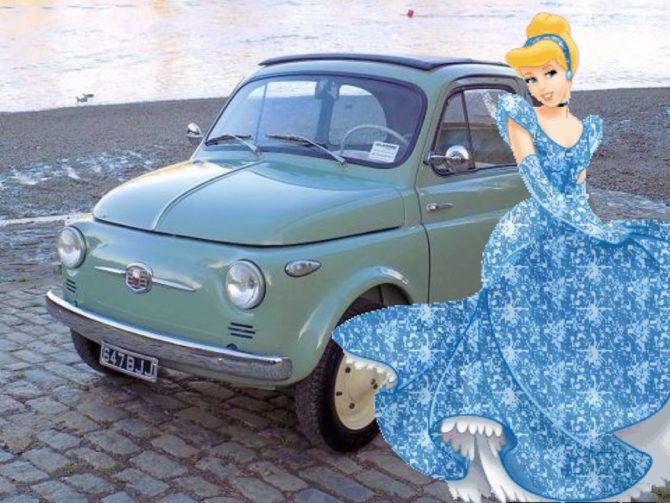 Cenerentola Cinquecento e le sue sorelle Fiat