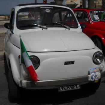 La Fiat 500 di Domenica Palumbo