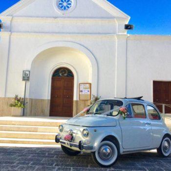 Emozione 500: il matrimonio in Puglia con Bettina la Cinquina