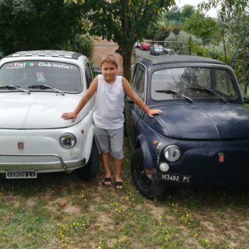La Fiat 500 di Gabri Ballu