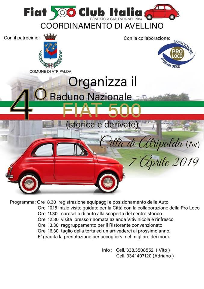 Calendario Raduni Fiat 500 2020.Page 6 Of 12 Fiat 500 Nel Mondo