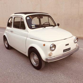La Fiat 500 di tono86