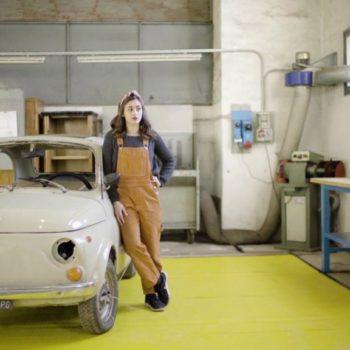 Restaurare una Fiat 500 per passione: Giovanna e la sua Cinquecento