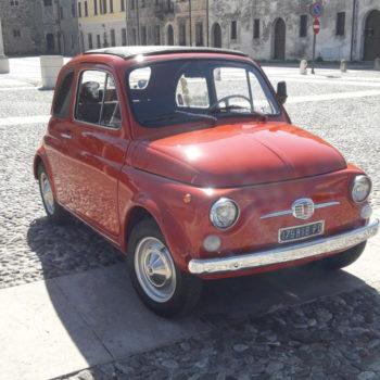 La Fiat 500 di Pablito