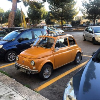 La Fiat 500 di Massimiliano 91